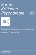 FKP 59 – Die politische Dimension des Subjektiven. Kreatives Problemlösen