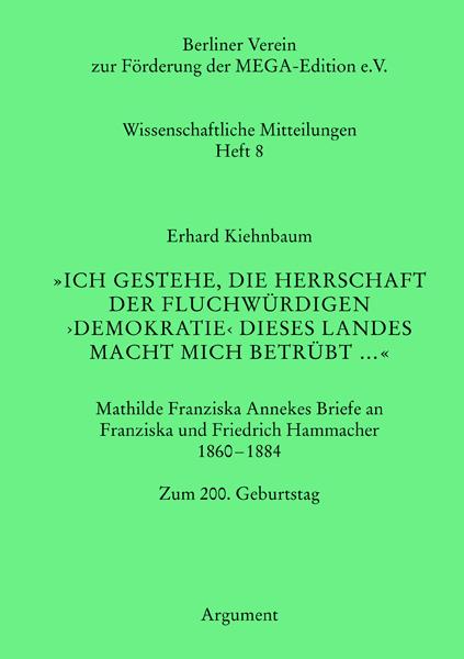 Wissenschaftliche Mitteilungen Heft 8